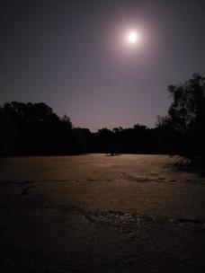 Moon over McPherson